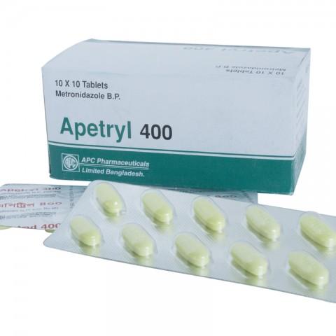 Apetryl 400 (METRONIDAZOLE)