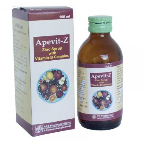 Apevit-Z (VITAMIN B-COMPLEX+ZINC)
