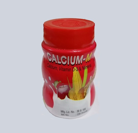 Calcium-m Tab (CALCIUM, VITTAMIN-D3 & MINERALS)