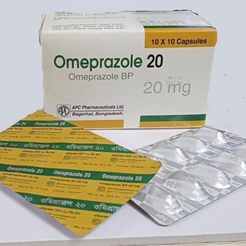 Omeprazole 20 (Omeprazole BP)