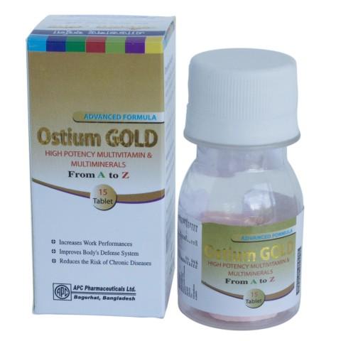 Ostium GOLD (Multivitamin & Multimineral A to Z)